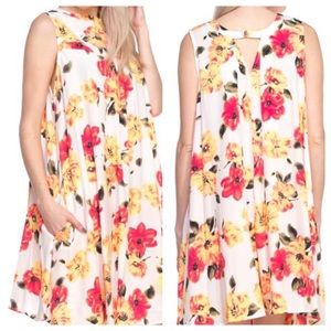 ➕ Floral Swing Dress